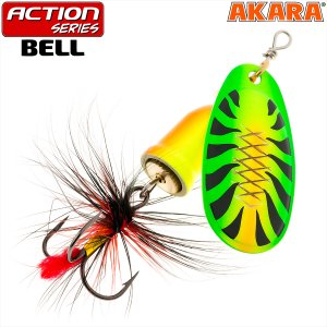 Блесна вертушка Akara Action Series Bell