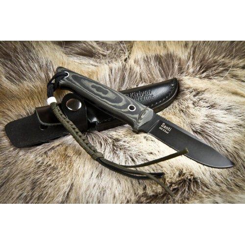 Нож Santi Черный AUS8