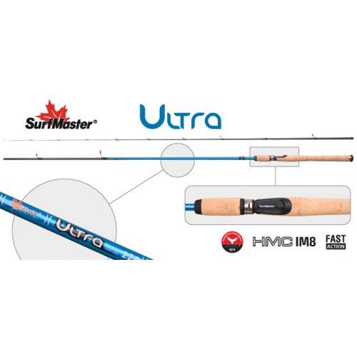 Спиннинг штекерный угольный 2 колена Surf Master 3003 Ultra Spin IM8