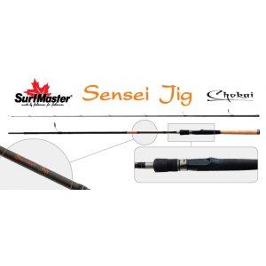 Спиннинг штекерный угольный 2 колена Surf Master 3166 Chokai Series Sensei Jig IM12