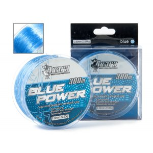Леска Akara Blue Power голубая 300 м