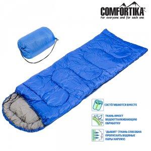 Спальник Comfortika Simple SP4 XXL 200+35*90 см одеяло с подголовником -10C /+5C