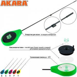 Удочка зимняя Akara SPZ-Y Sport Green