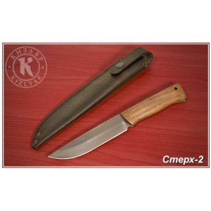Нож Стерх-2 (дерево-орех)