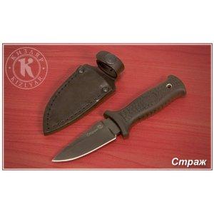 Нож Страж (эластрон) черный