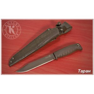Нож Таран (эластрон) черный