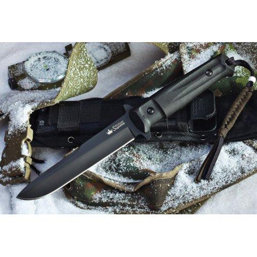Нож Trident Черный AUS8