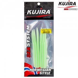 Трубка перчик Kujira G-Makk для крючков 6/0 Lumo (6 шт)