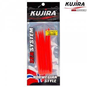 Трубка перчик Kujira G-Makk для крючков 6/0 Red (6 шт)
