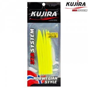 Трубка перчик Kujira G-Makk для крючков 6/0 Yellow (6 шт)