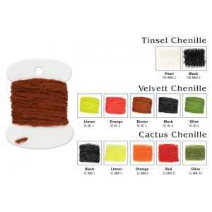Материал для вязки мушек Akara Cactus Chenille