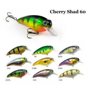 Воблер RAIDEN Cherry Shad 60