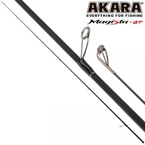 Хлыст угольный для спиннинга Akara Magista GT M762 (5,5-27) 2,28 м