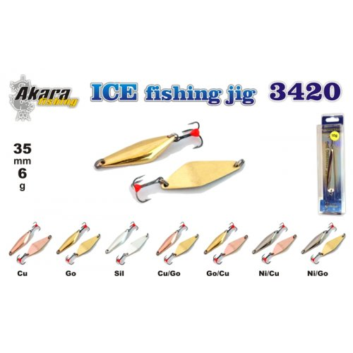 Блесна зимняя Akara Ice 3420
