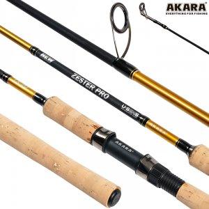 Спиннинг штекерный угольный 2 колена Akara Zester Pro TX-20 (3-18)