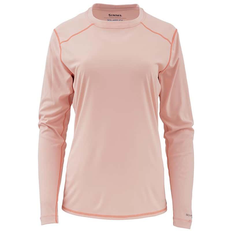 Термофутболка Simms Womens Solarflex Crewneck Light Pink