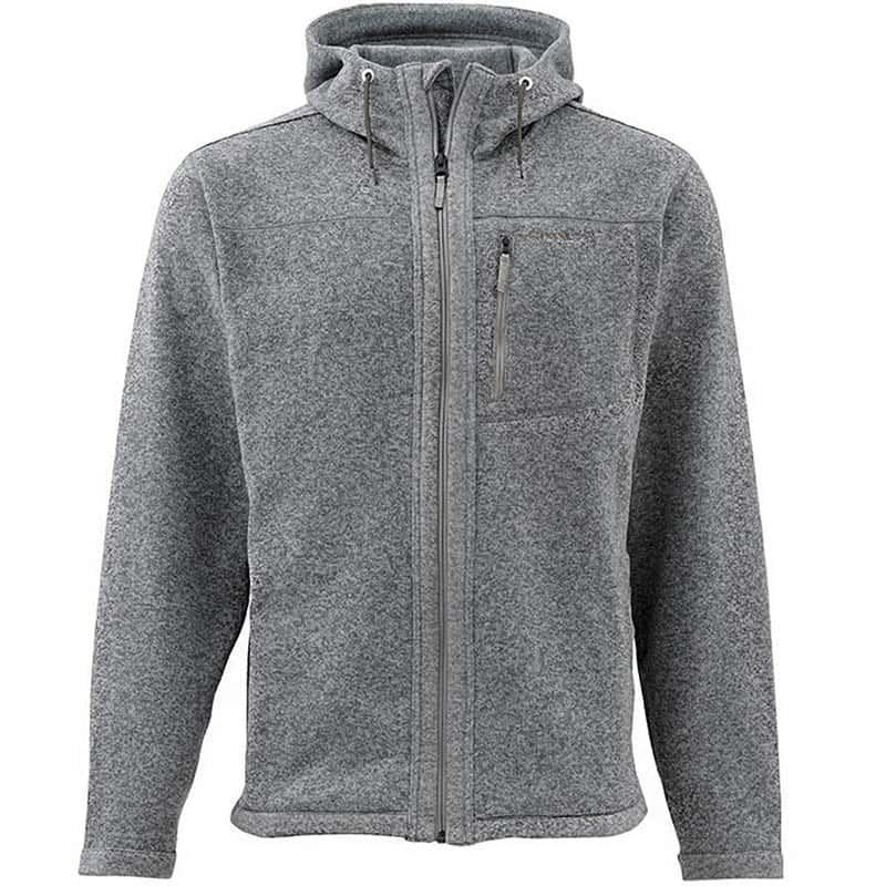 Куртка Simms Rivershed Full Zip Hoody Smoke