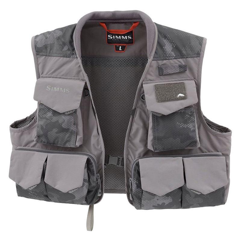 Жилет Simms Freestone Vest Hex Flo Camo Carbon