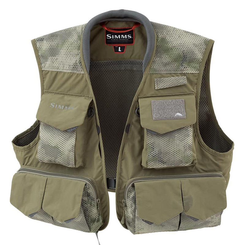 Жилет Simms Freestone Vest Hex Camo Loden