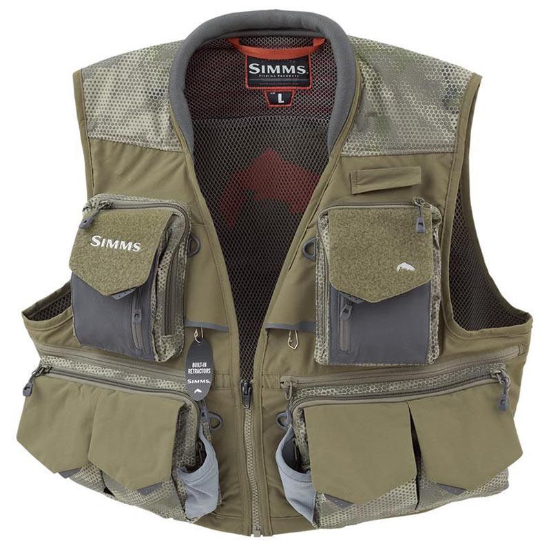 Жилет Simms Guide Vest Hex Camo Loden