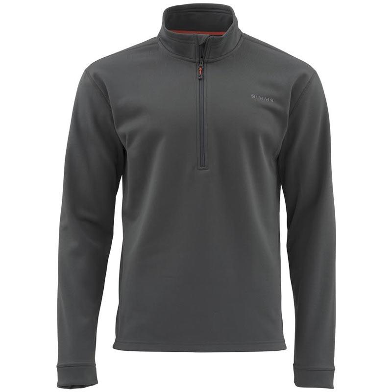 Пуловер Simms Midweight Core Quarter-Zip Carbon