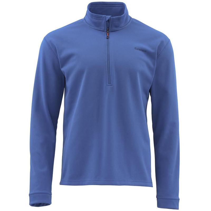 Пуловер Simms Midweight Core Quarter-Zip Rich Blue