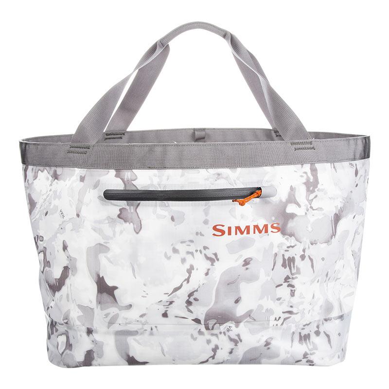 Сумка Simms Dry Creek Simple Tote Cloud Camo Grey 50L