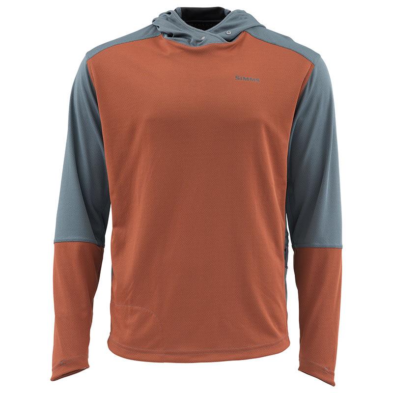 Термофутболка Simms SolarFlex Sport Hoody Simms Orange
