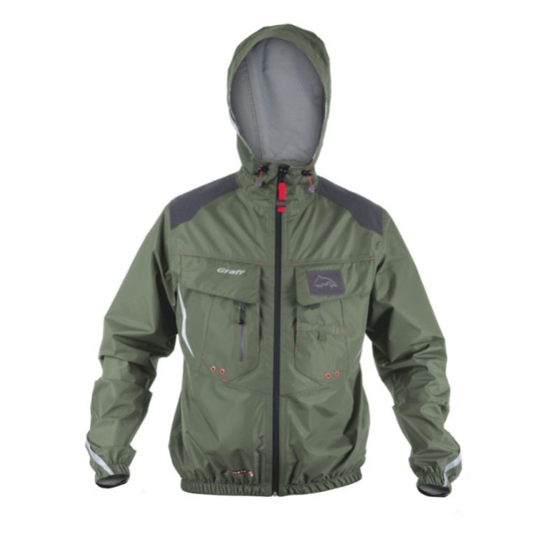Куртка Graff Climate рыболовная с капюшоном ( Bratex 10000)