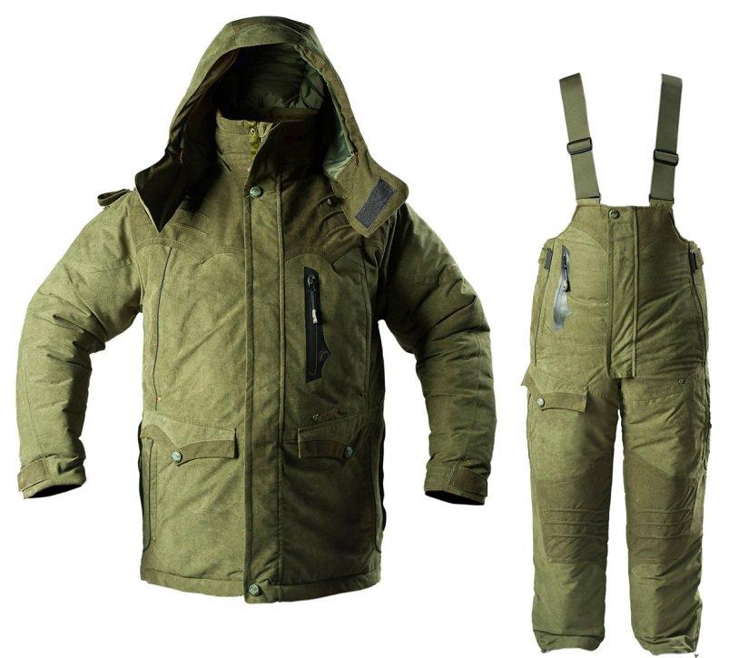 Теплая куртка для зимней рыбалки