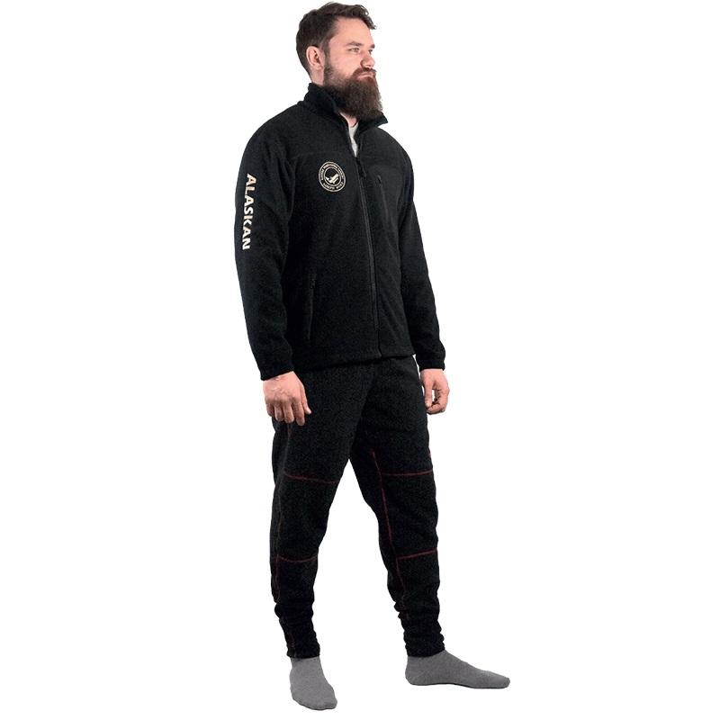Куртка флисовая Alaskan North Wind черная