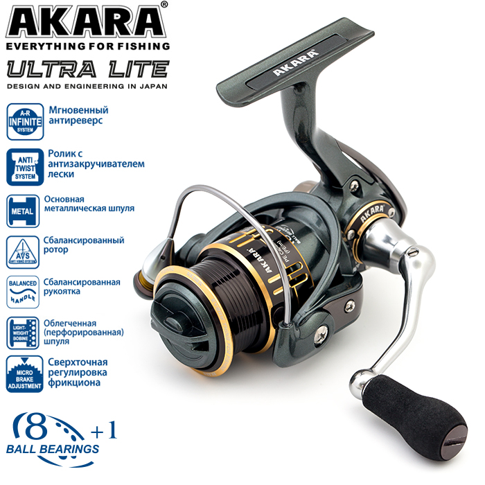 Катушка безынерционная Akara Ultra Lite