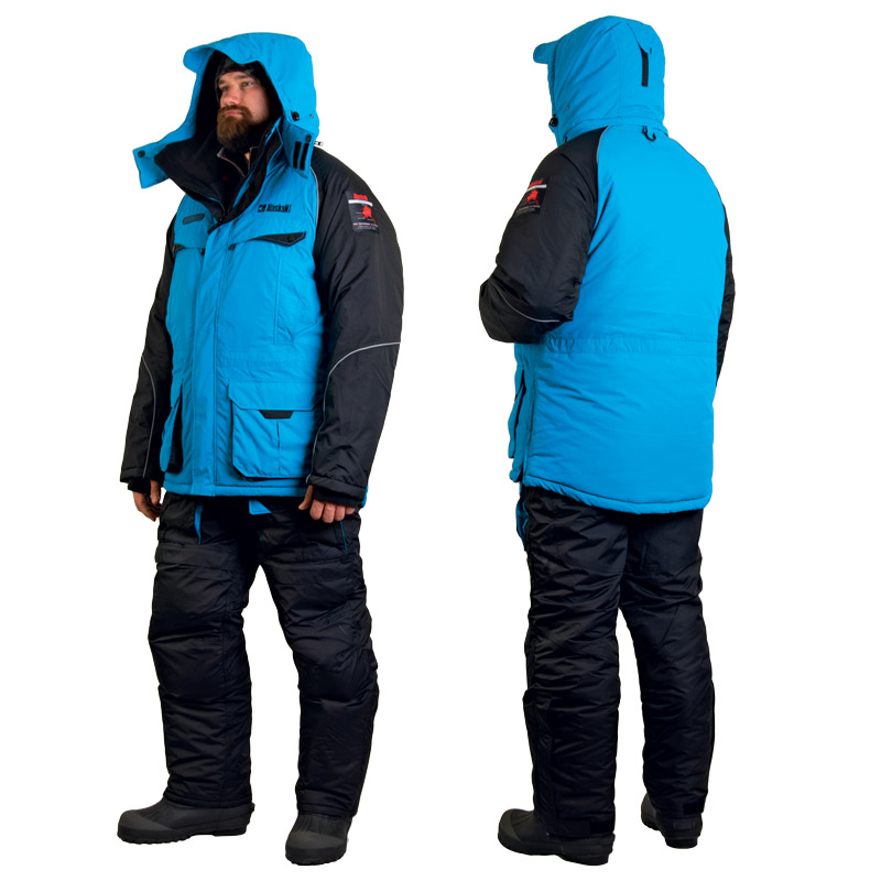 Костюм зимний Alaskan NewPolarM синий/черный