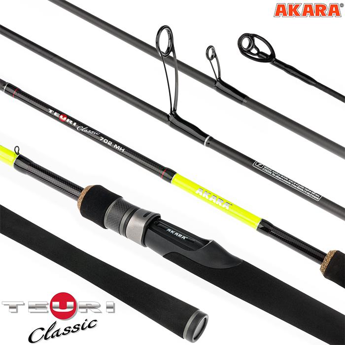 Спиннинг штекерный угольный 2 колена Akara Teuri Classic MH TX-30 (14-35)