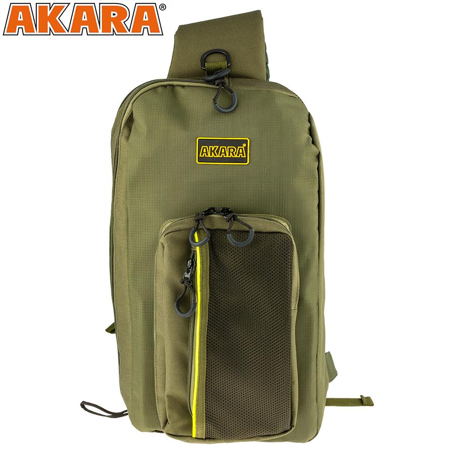 Сумка-рюкзак Akara Streetfishing 20x40x10 см