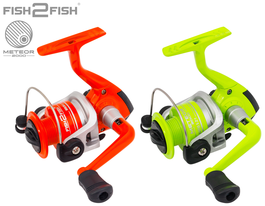 Катушка безынерционная Fish 2 Fish Meteor AFM