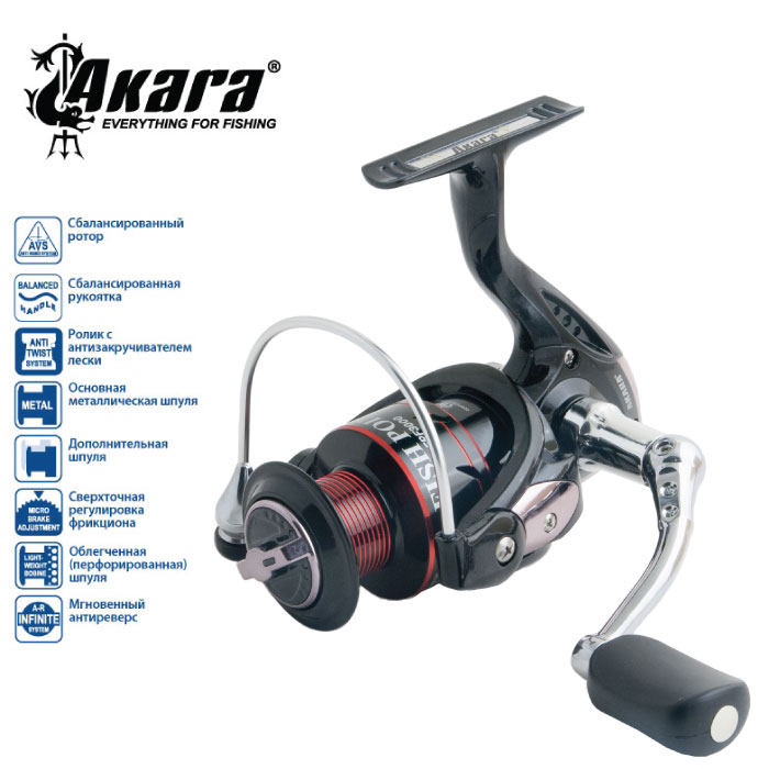 Катушка безынерционная Akara Fish Point FPF