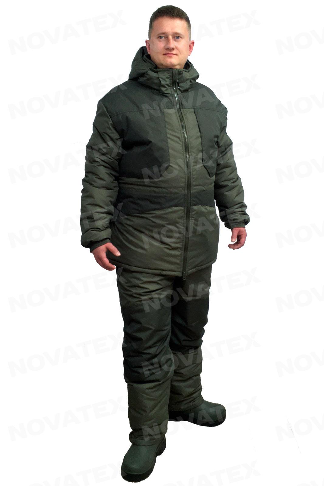 Костюм зимний Novatex Квест Следопыт п/э хаки -30C
