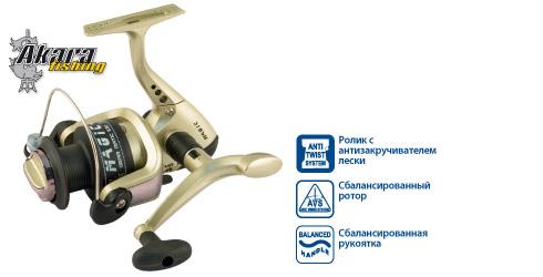 Катушка безынерционная Akara MG 40