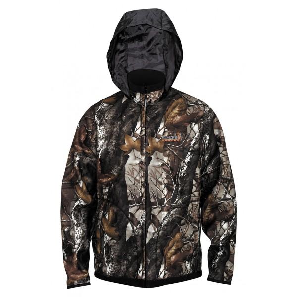 Куртка Norfin Hunting Thunder Staidness/Black Двухсторонняя