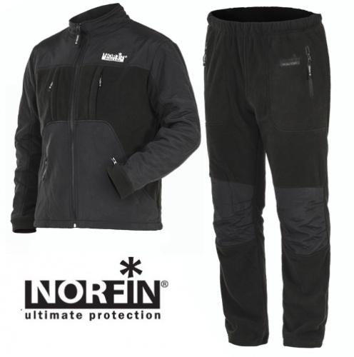 Костюм флис. Norfin Polar Line 2 Gray