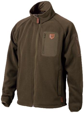 Флисовая куртка JahtiJakt Riekko fleece brown
