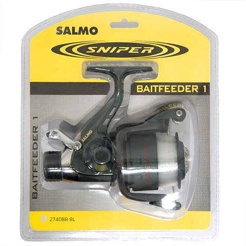 Катушка безынерционная Salmo Sniper Baitfeeder 1 BR блистер