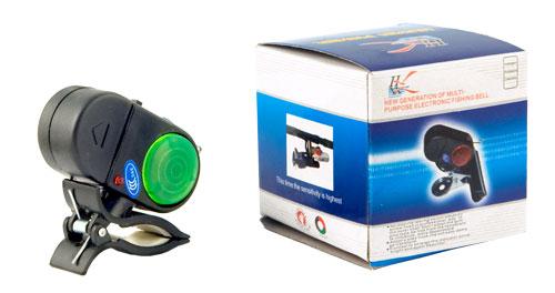Сигнализатор поклёвки электронный 013 FISHER на пластмассовой прищепке