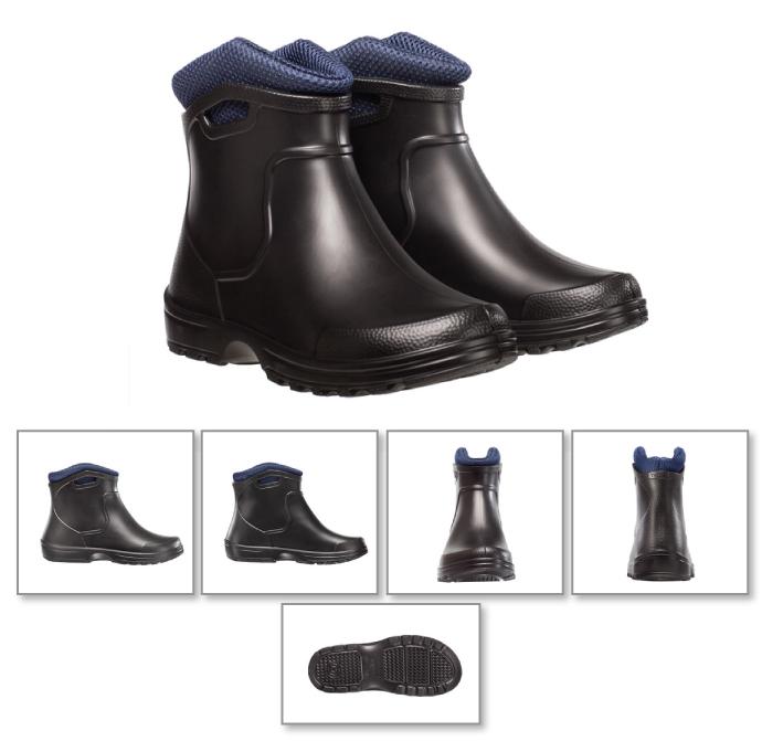 Ботинки Torvi City -10С с утепленным вкладышем черные