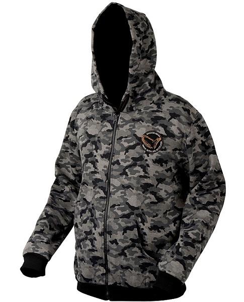 Куртка Savage Gear Black Zip Hoodie